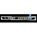 Nalepka Rog Pony Express