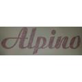 Nalepka kovinskega rezervoarja Alpino